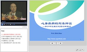 Screenshot of Psychosomatic Medicine of TCM